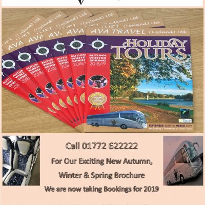 New Brochure Autumn, Winter & Spring 2019