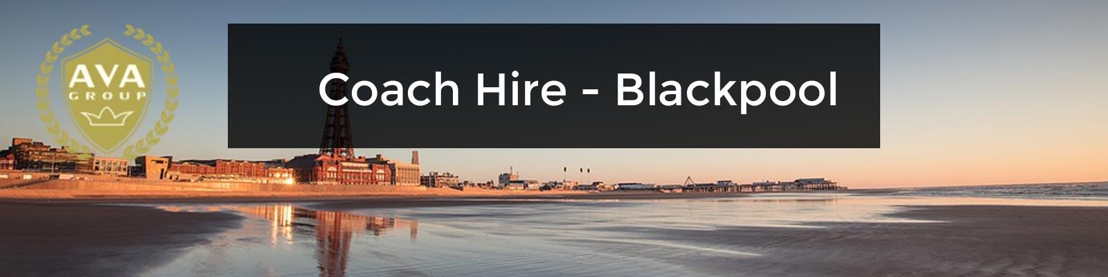 coach hire blackpool